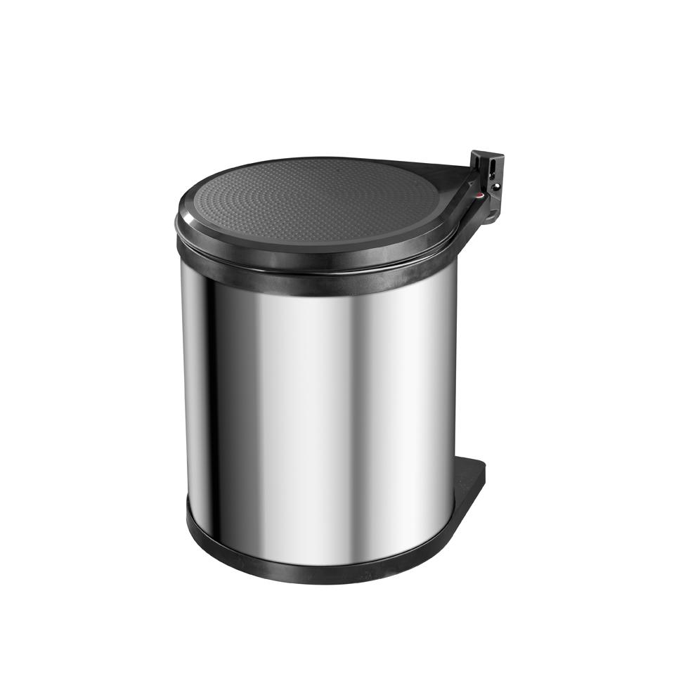 Compact-Box M nerez/černý